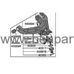 MITSUBISHI L200 ALT SALINCAK 99-05 4X4 BURÇLU ROTİLLİ SOL TWINS MR296267