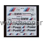 BMW YAZI BMW PERFORMANCE SİYAH NATUREL BMW277519