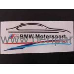 BMW YAZI BMW MOTORSPORT SİYAH 14.3cm NATUREL BMW277531