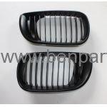 BMW E46 PANJUR SET SİYAH 01-05 BTAP 51137042961, 51137042962