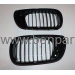 BMW E46 PANJUR SET PARLAK SİYAH 01-05 BTAP 51137042961, 51137042962
