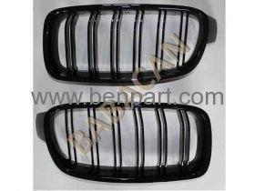 BMW F31 LCI PANJUR SET MAT SİYAH 14-17 BTAP 51137260497-498