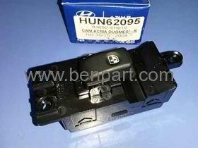 HYUNDAI HD35 CAM AÇMA DÜĞMESİ SAĞ (OTOMATİK) HD75 04/- MOBIS 93692-5H010